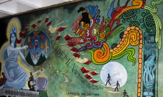 Murales que cuentan la historia del país