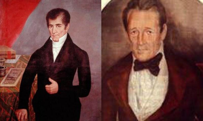 José Cecilio del Valle y Pedro Molina, dos próceres de la independencia