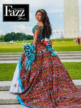 vestido casa de modas fazz - Ernesto González el diseñador que ha llegado a la alfombra roja