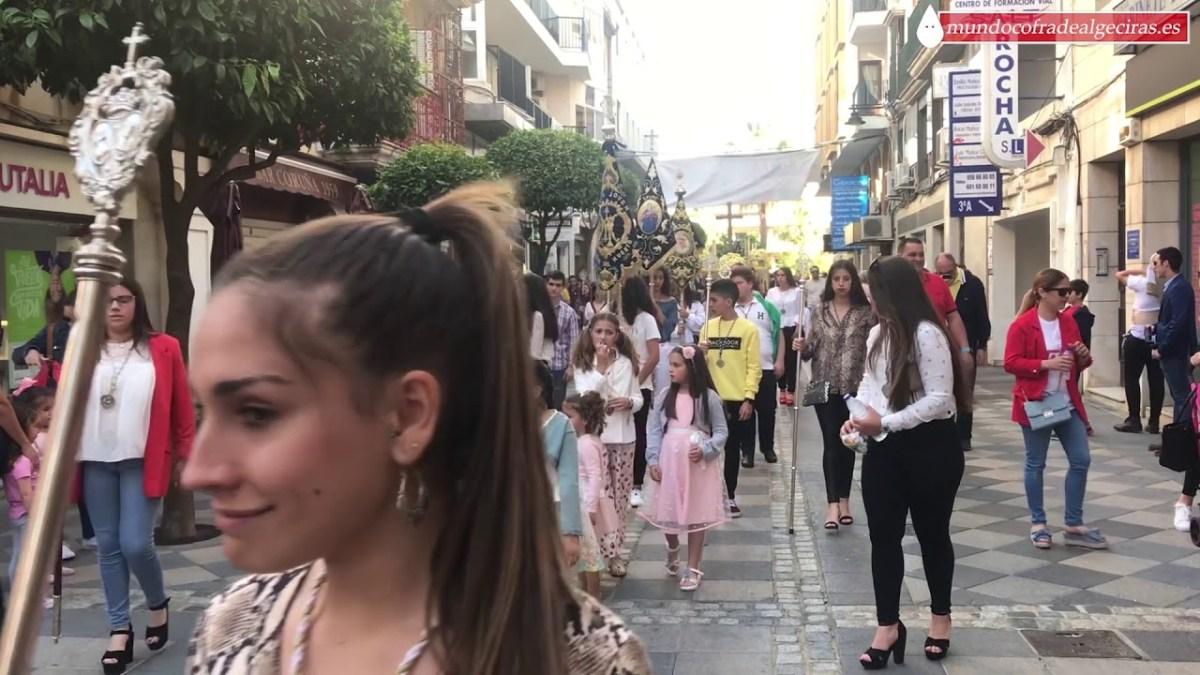 La Columna realiza su tradicional Cruz de Mayo