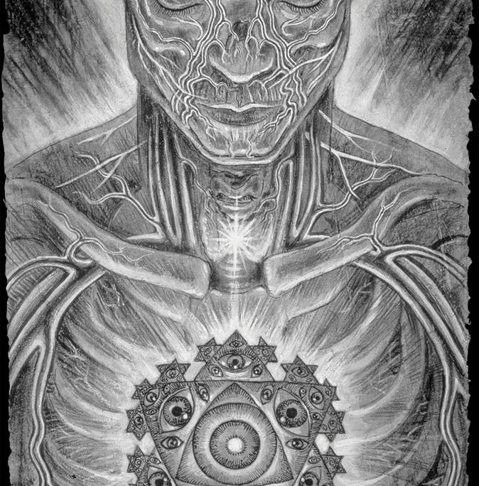 Mistic Eye – Alex Grey