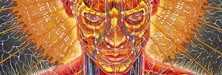 Praying – Alex Grey (detalhe)