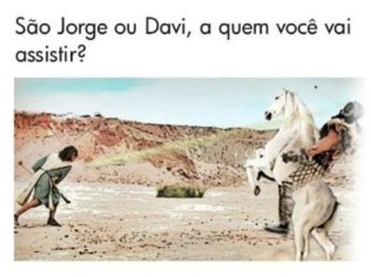 São Jorge versus Rei Davi