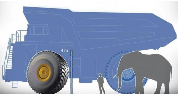 pneu gigante