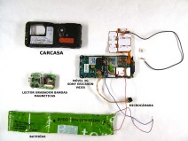 dispositivo de copiado de pin con microcámara de tf móvil