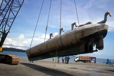 narco submarino 3 snorkels