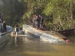 narco submarino fibra de vidrio Colombia