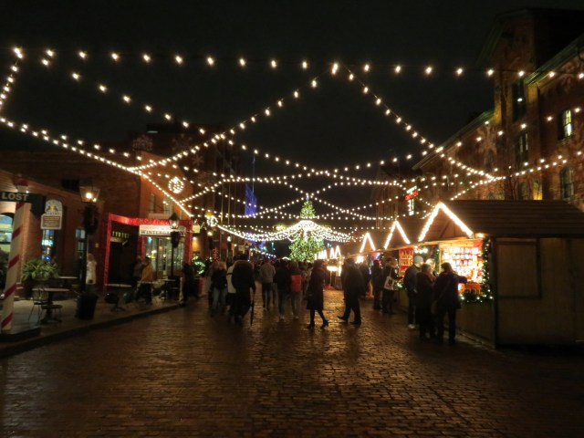 Christmas Market Distillery District