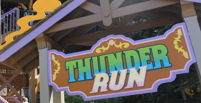 Canada's Wonderland Thunder Run