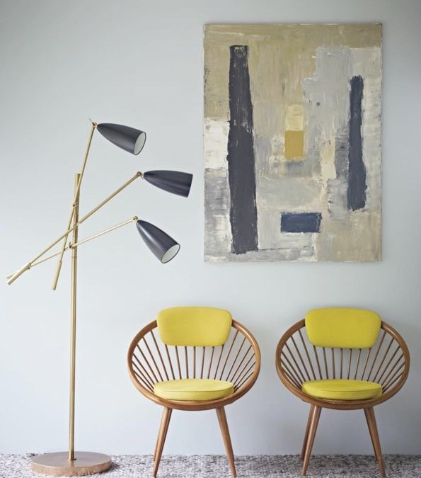Decoração: Um toque de cor na casa.