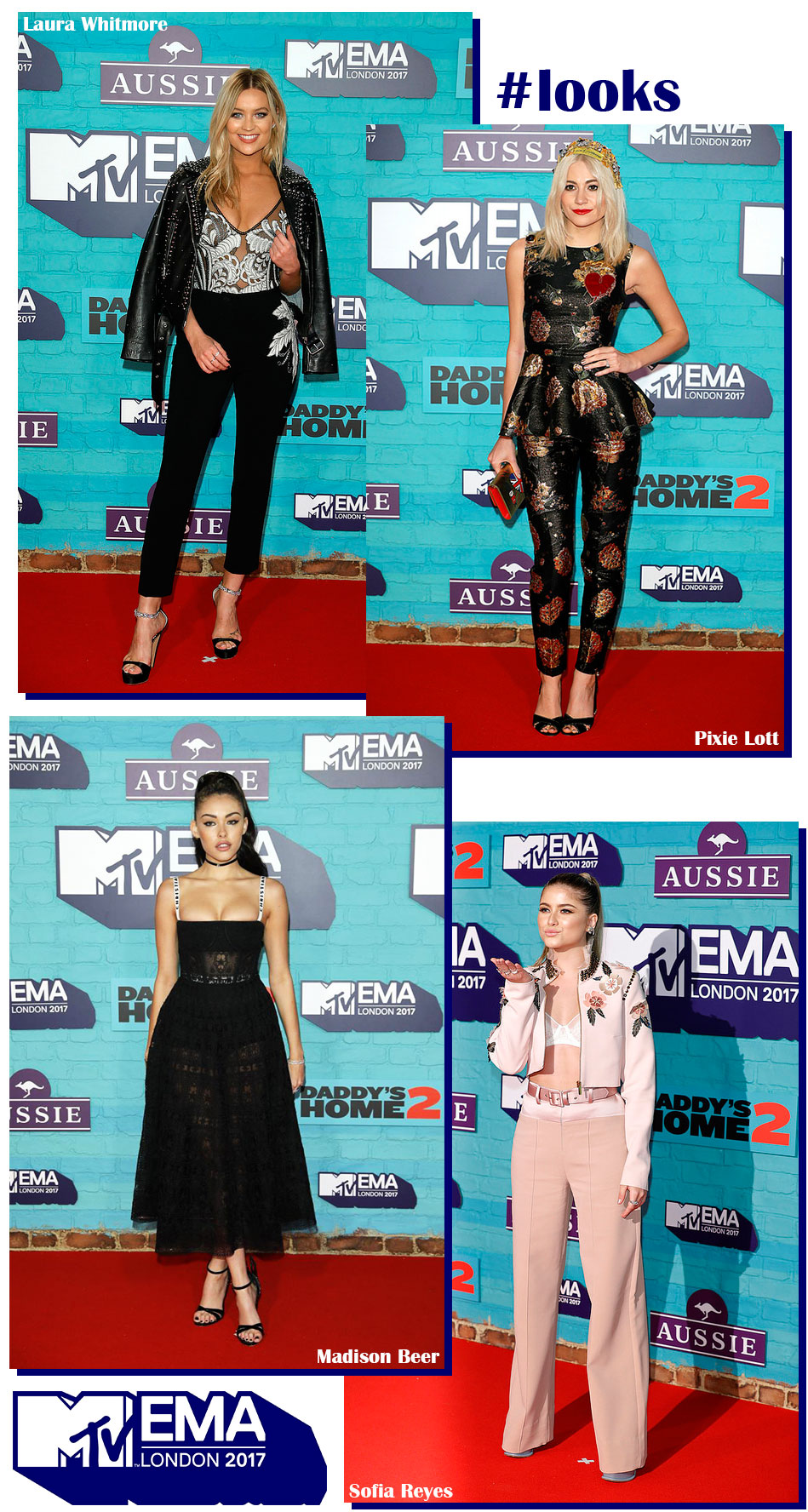 Red Carpet EMA 2017