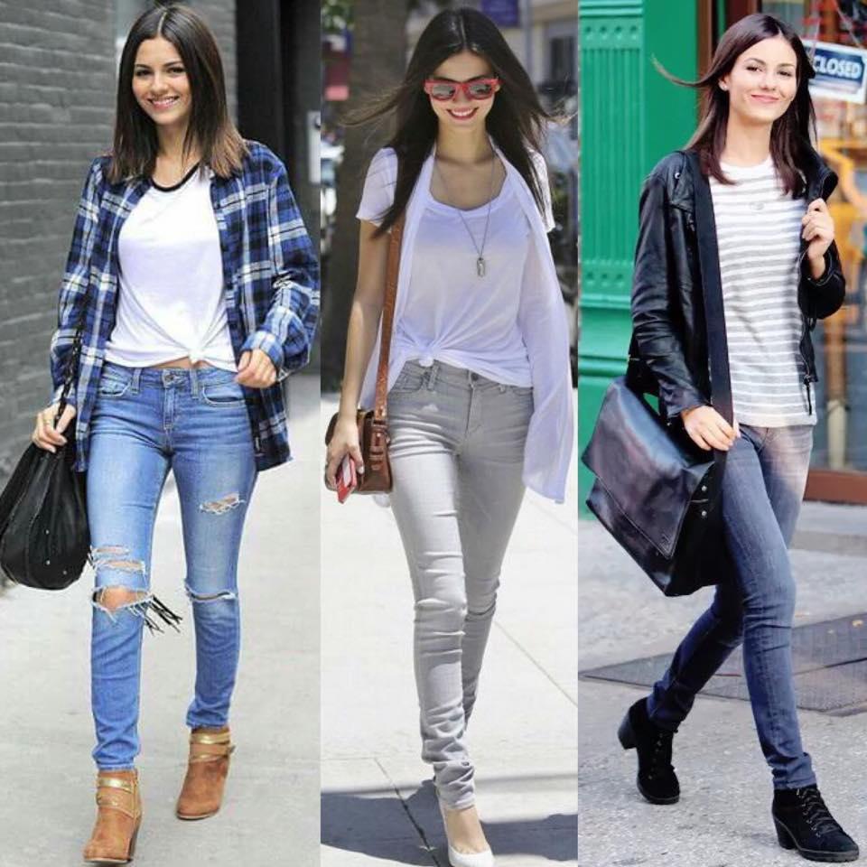 Estilo Victoria Justice Jeans