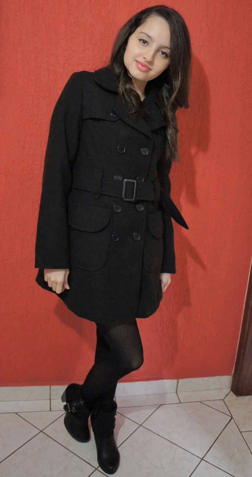 Look Inverno Total Black