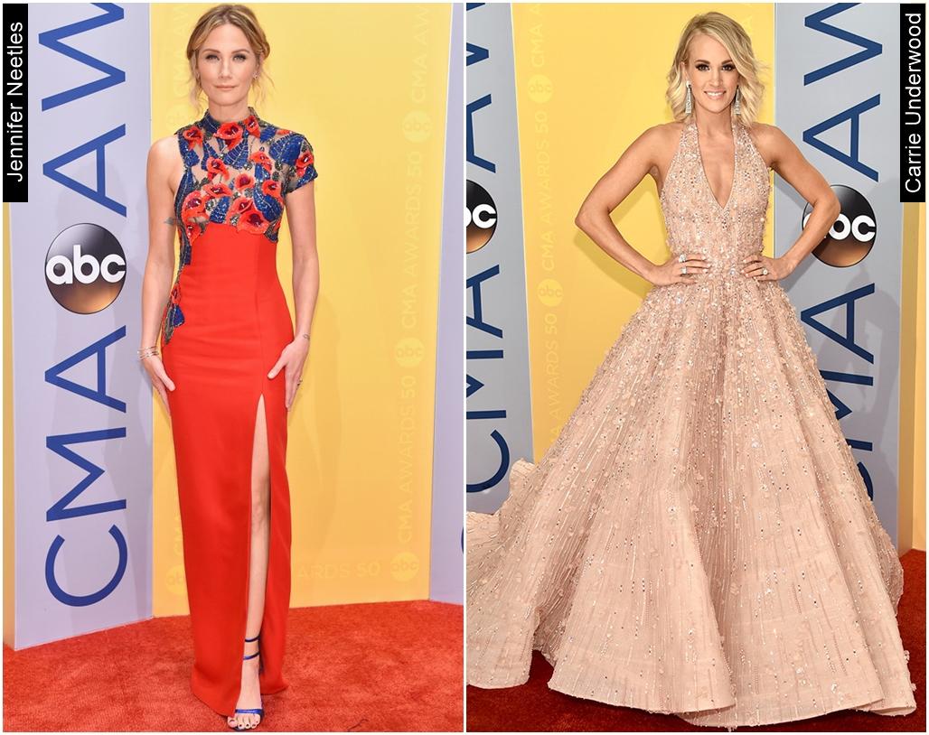 CMA Awards 2016 Carrie Underwood Jennifer Neetles