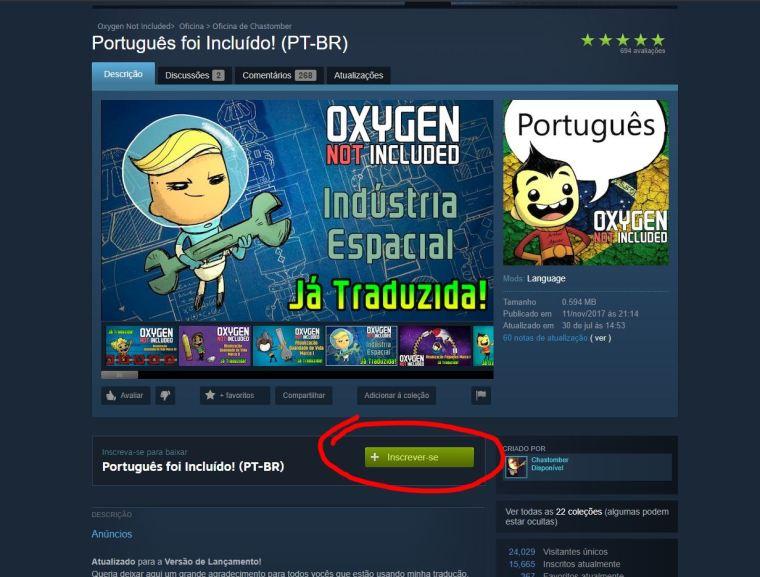 Dica: Como traduzir o Oxygen Not Included para o Português // Mundo DRIX