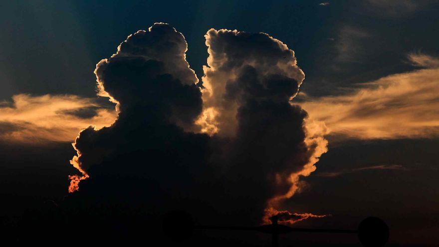 2 Nuvens impressionantes na China