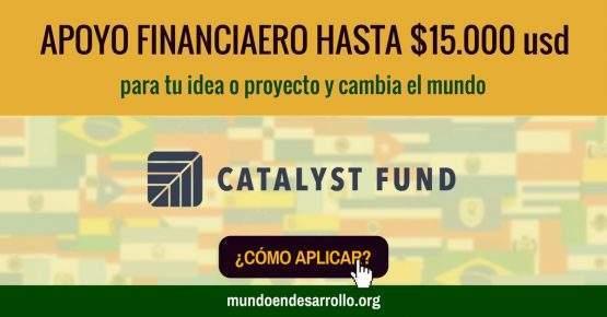 Obtén apoyo financiero