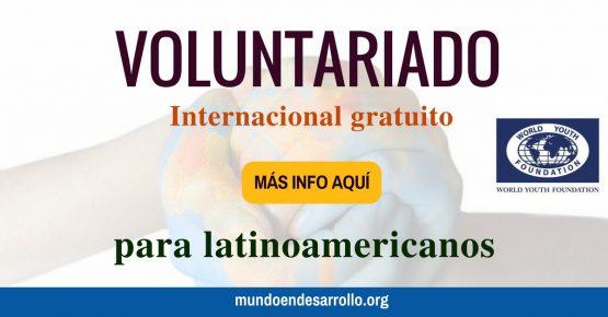Voluntariado internacional gratuito para latinoamericanos