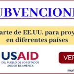 subvenciones de USAID