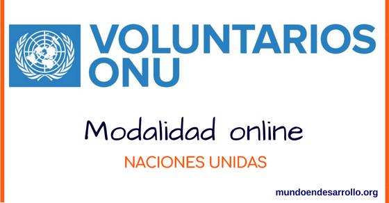 voluntariados onu