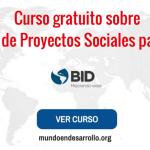 Curso de Gestión de Proyectos Sociales