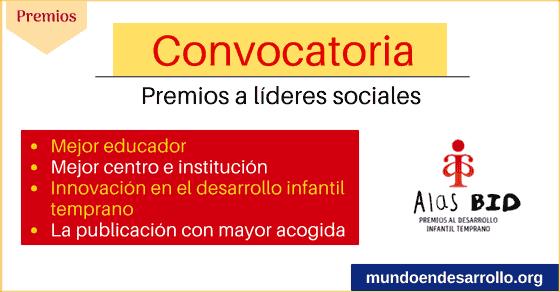 convocatoria para lideres sociales