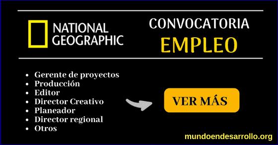 Vacantes de empleo en National Geographic