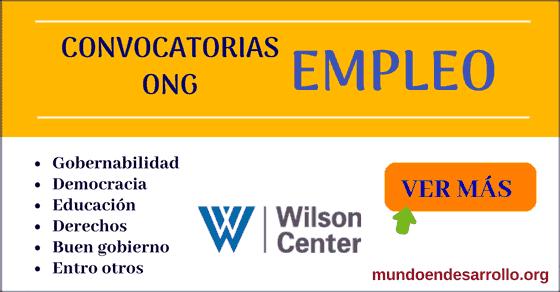 convocatorias de empleos ong