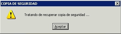 error copia seguridad