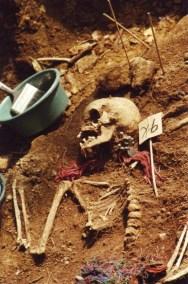 Exhumed Skeleton