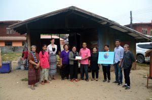safe home team: mundo and laekplian with partners local thai government