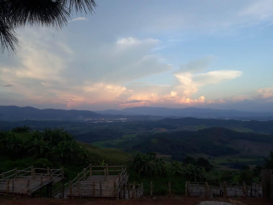 Doi Sa Ngo sunset view