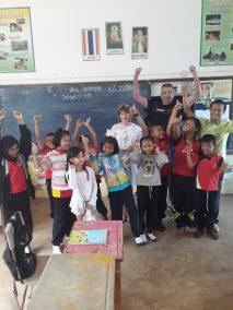 Having fun in the classroom