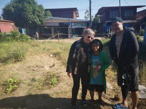 Phueng in Kok Khong with Yo and Dalyn