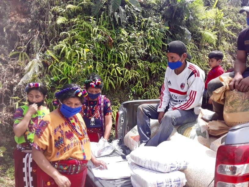 covid care packages Guatemala deliveries