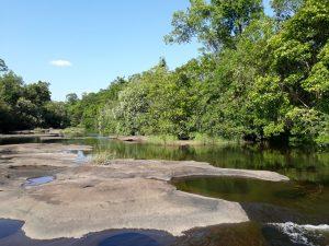 photos buengkan quiet river and rocks