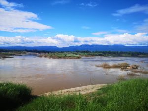 photos of isan area river and mountains
