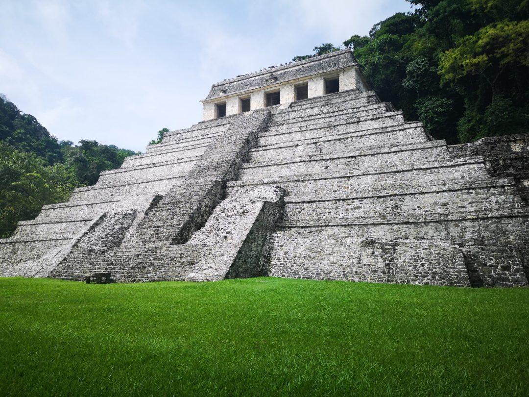 temple in jungle mexico
