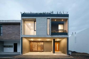 Diseño de casa rústica moderna con planos e interiores