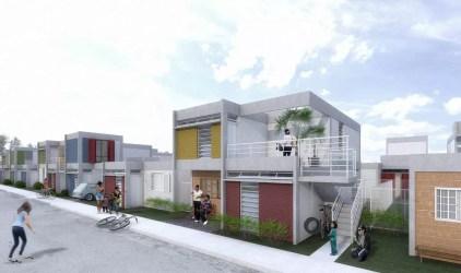 Propuesta para construcciones modernas asequibles te mostramos planos de casas pequeñas Mundo Fachadas