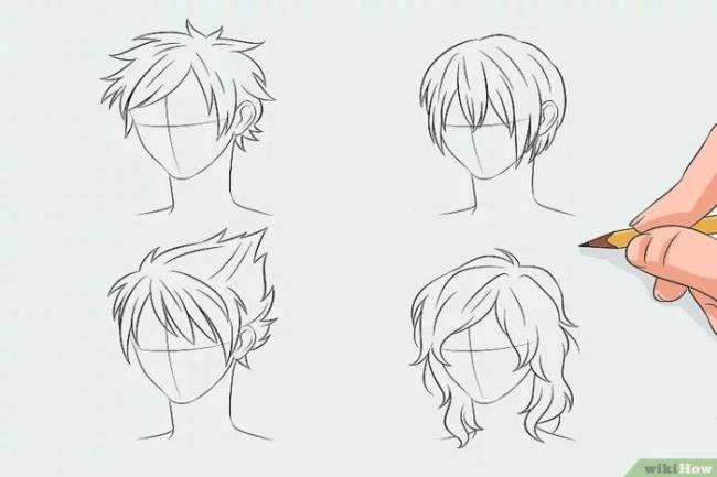 como desenhar cabelo de anime 300x200 - Curso desenhando animes aprenda como fazer corpo de anime