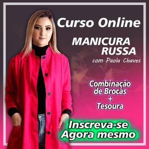 curso manicure russa 300x300 - Curso de cutilagem russa com Paola Chaves