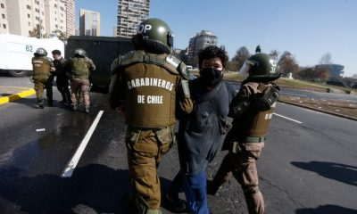 Manifestación chilena