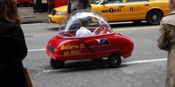 Peel 50 – o menor carro do mundo
