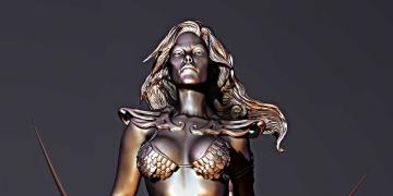 Red Sonja – Mais uma escultura