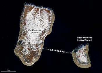 Gump: Conheça duas ilhas que estão uma ao lado da outra mas tem um fuso horário de 21 horas entre elas