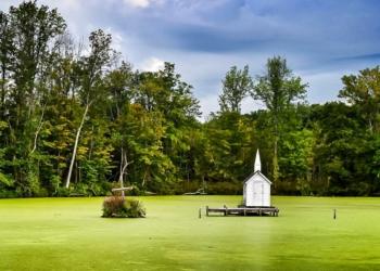 Foto gump do dia: A capela do pântano