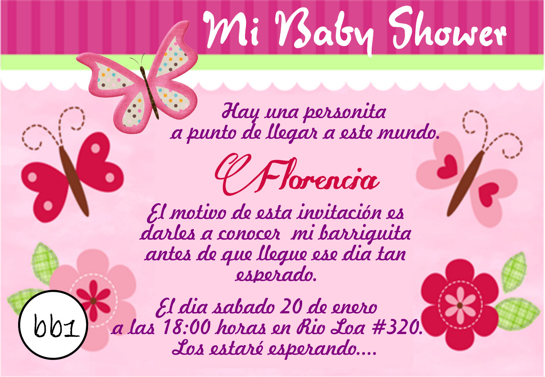 Tarjetas Baby Shower