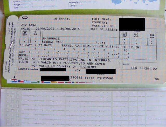 Passe Interrail 02 Mundo Indefinido