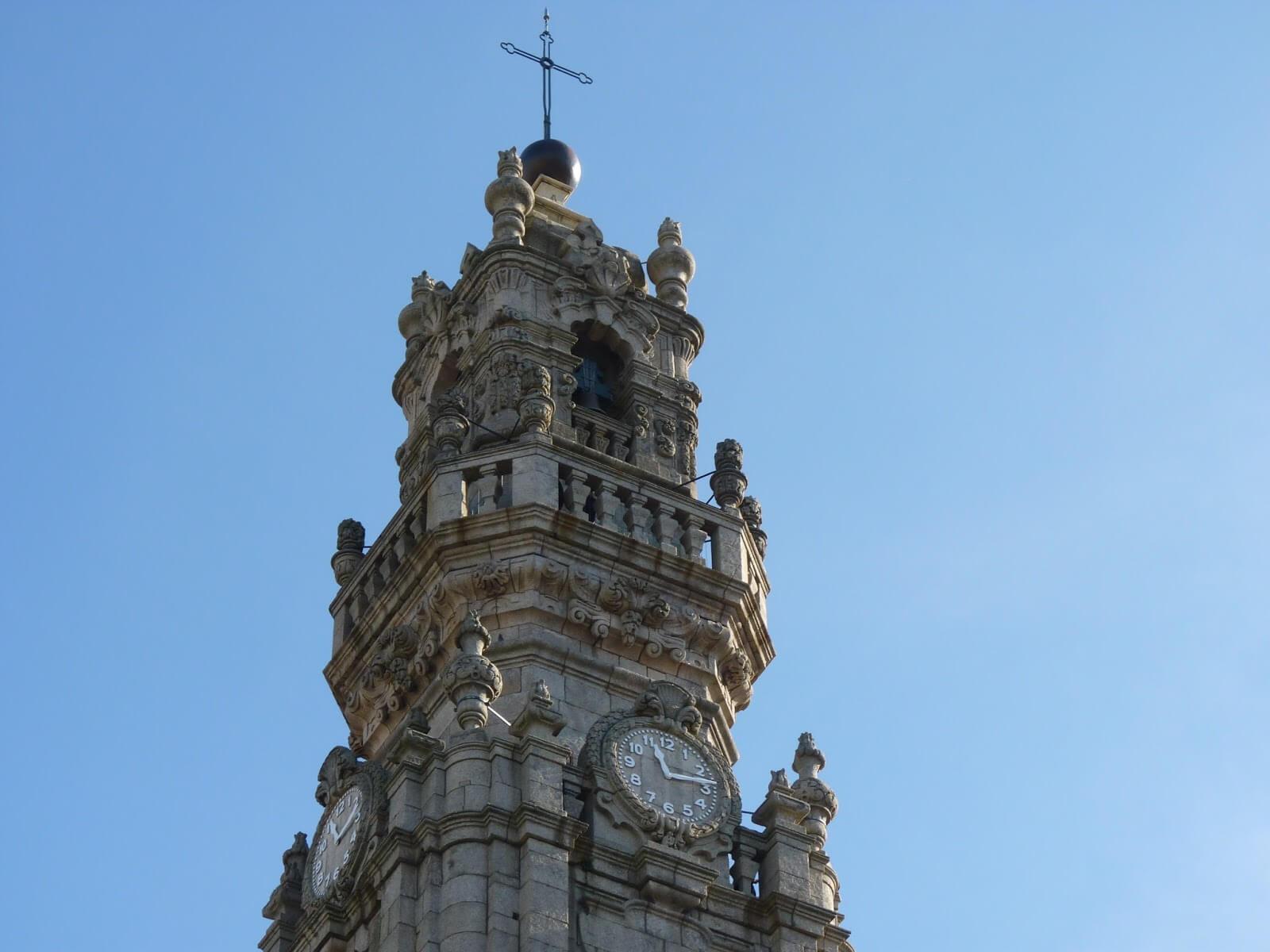Clérigos Porto Portugal Mundo Indefinido